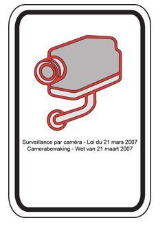 Afbeeldingsresultaat voor wetgeving wettelijke pictogram camerabewaking
